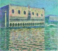 Дворец дожей, Венеция - Моне, Клод