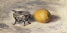 Сахарница и лимон - Ренуар, Пьер Огюст