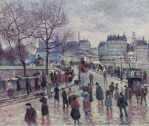 Мост архиепархии, Париж, 1896 - Люс, Максимильен