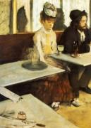 В кафе (Любительница абсента),1876 - Дега, Эдгар