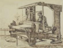 Ткач 5 (Weaver), 1884 - Гог, Винсент ван