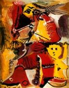 Фигура Рембрандта и Эрос, 1969 - Пикассо, Пабло