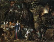 Искушение святого Антония - Брейгель, Ян (Старший)