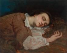 Спящая девушка - Курбе, Гюстав