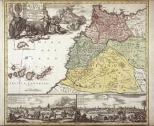 Карта Африки - Хоманн, Иоганн Баптист