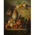 Фрукты и  цветы - Ос, Георг Якоб Иоганн ван