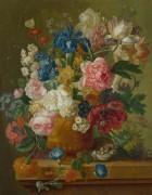 Цветы в вазе - Брюссель, Паулюс Теодор ван