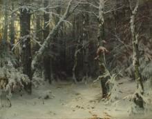 Зимний лес - Шишкин, Иван Иванович