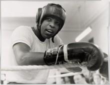 Мухамед Али на тренировке, Лондон, 1966