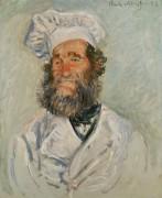 Портрет повара - Моне, Клод