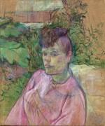Женщина в саду месье Форе - Тулуз-Лотрек, Анри де