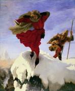 Манфред на вершине Юнгфрау (по поэме лорда Байрона) - Браун, Форд Мэдокс