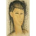 Голова молодой женщины - Модильяни, Амадео