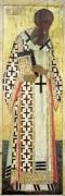 Деисусный чин (Владимир, Успенский собор, 1408) 1. Св.Григорий Богослов - Рублев, Андрей