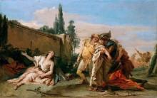 Прощание Ринальдо и Армиды - Тьеполо, Джованни Баттиста