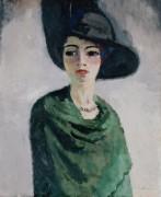Женщина в черной шляпе - Ван Доген, Кис