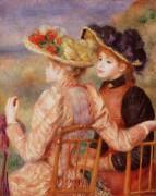 Две девушки - Ренуар, Пьер Огюст