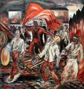 Борьба за знамя (Сражающиеся революционеры) - Голополосов,  Борис Александрович