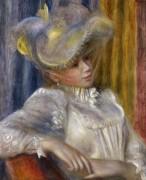 Женщина в шляпе - Ренуар, Пьер Огюст