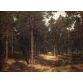 Дорожка среди сосен, 1883 - Шишкин, Иван Иванович