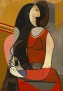 Сидящая женщина - Пикассо, Пабло