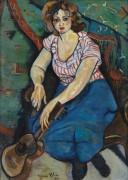 Дама с гитарой - Валадон, Сюзанна