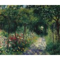 Женщина в саду, 1873 - Ренуар, Пьер Огюст