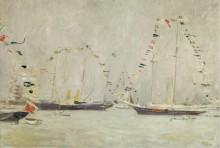 Яхты с флажками - Эллё, Поль-Сезар