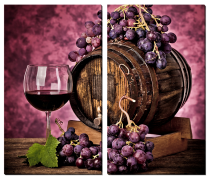 Натюрморт с виноградом_2