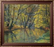 Течение Белы осенью - Гудечек, Антонин