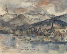 Вид Люцерн, 1924 - Коринт, Ловис