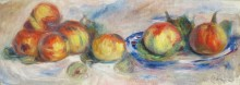 Натюрморт с яблоками - Ренуар, Пьер Огюст
