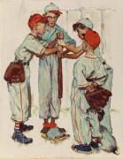 Бейсбол - Роквелл, Норман
