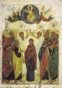 Праздничный чин (Владимир, Успенский собор) 4. Вознесение (1408) - Рублев, Андрей