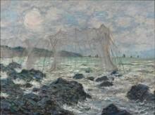 Рыболовные сети в Пурвиле - Моне, Клод