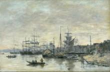 Бордосский порт - Буден, Эжен