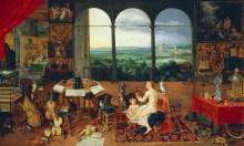 Аллегория слуха - Брейгель, Ян (Старший)