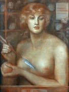 Венера Вертикордия (Венера, обращающая сердца) - Россетти, Данте Габриэль
