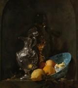 Натюрморт с серебряным кувшином - Кальф, Виллем
