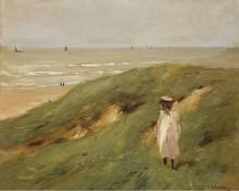 Ребенок в дюнах близ Нордвейка, 1906 - Либерман, Макс