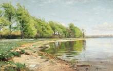 Пейзаж с озером - Мёнстед, Петер