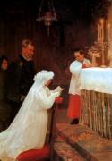 Первое причастие, 1896 - Пикассо, Пабло