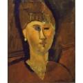 Рыжеволосая женщина - Модильяни, Амадео