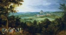 Сбор на охоту эрцгерцога Австрийского - Брейгель, Ян (Старший)