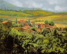 Тосканский пейзаж - Борелли, Гвидо (20 век)
