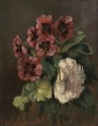 Букет цветов - Курбе, Гюстав