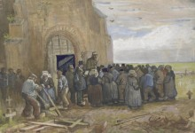 Продажа строительного лома (Sale of Building Scrap), 1885 - Гог, Винсент ван