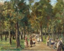 Прогуливающиеся в Тиргартене, 1925 - Либерман, Макс