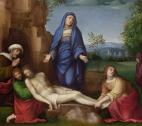 Оплакивание мертвого Христа -  Франческо Франча (Франческо ди Марко ди Джакомо Райболини)