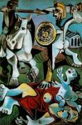 Похищение сабинянок, 1963 - Пикассо, Пабло